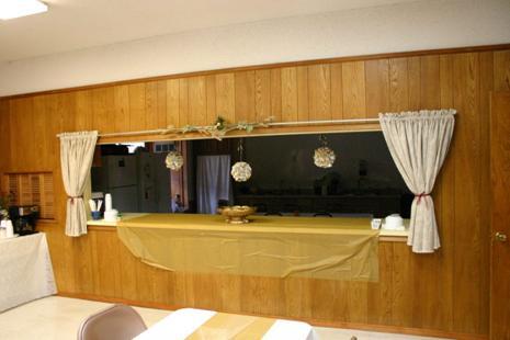 Anniv. spec-window in fellowship hall