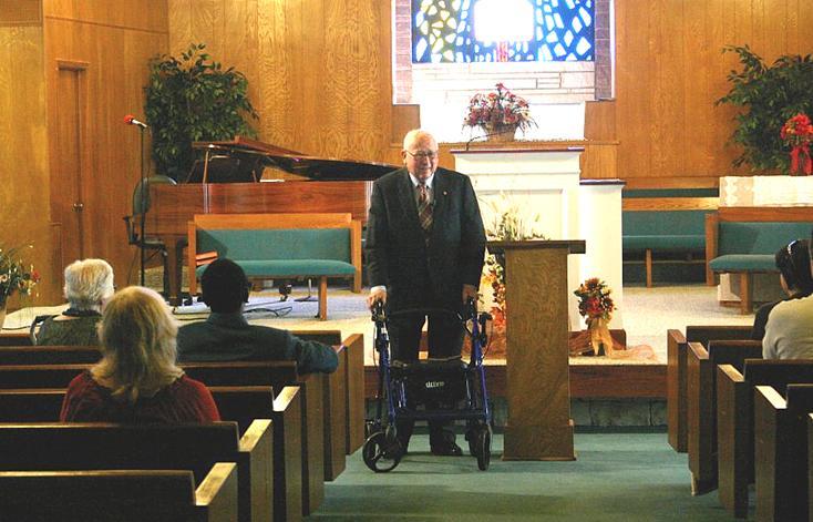 Dr. Duckot, 1st pastor when LBC was still Memorial Bapistt
