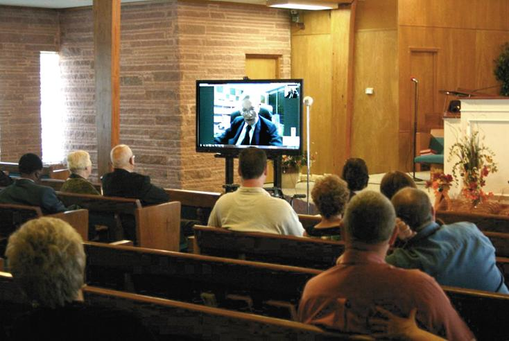 Skyping with Dr. Jack Green - LBC's 2nd Pastor - now Missionary to Thailand