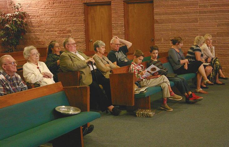 Members and Visitors at LBC enjoying the Presentation